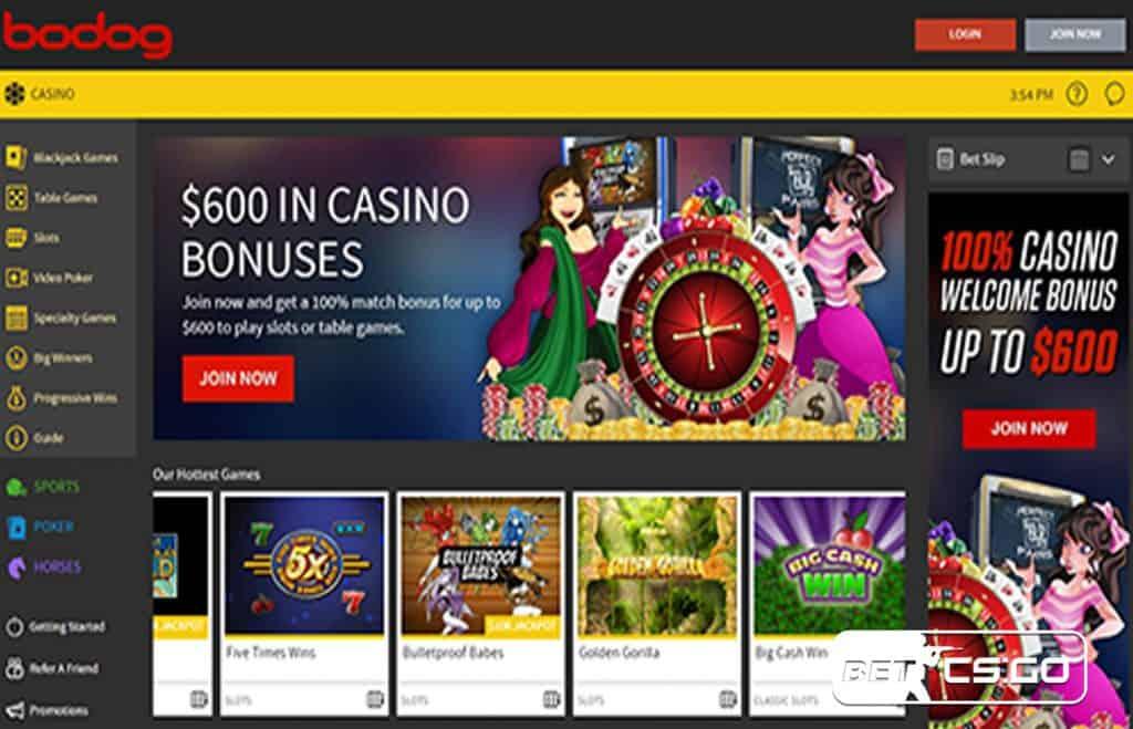 Juegos Bodog Casino