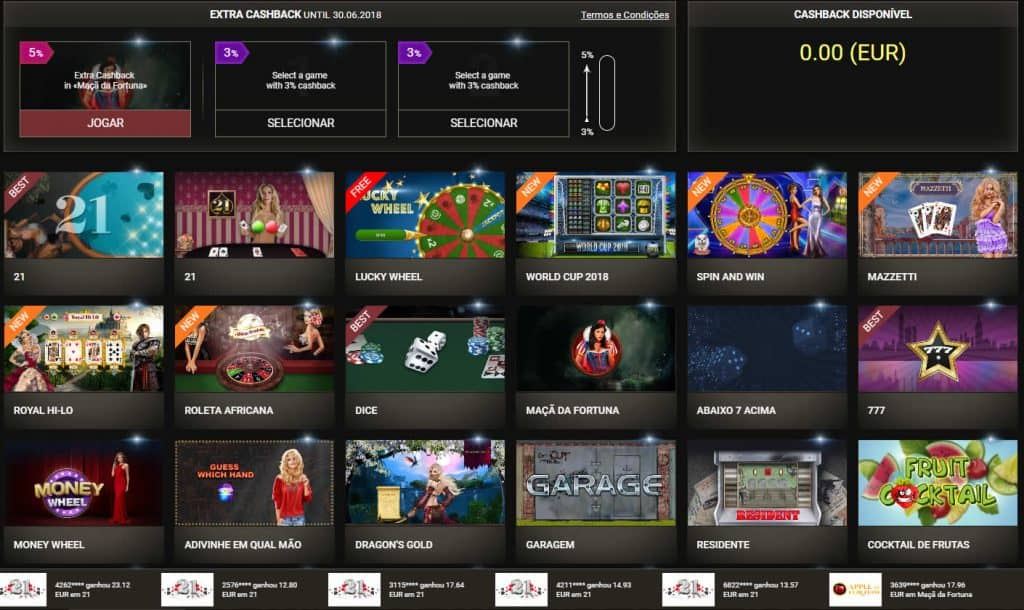 Juegos 1xSlots Casino